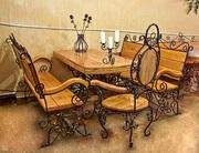 Кованная мебель и другие изделия из металлоконструкций