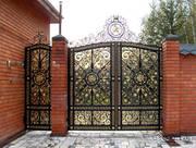Гаражные ворота,  кованные изделия,  заборы кованные