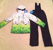 Теплые мембранные женские горнолыжные костюмы,  комплекты для спорта и