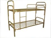 Кровати металлические одноярусные,  для бытовок,  кровати дёшево