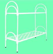 Металлические кровати для бытовок,  кровати для вагончиков. оптом